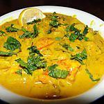recette Curry de pommes de terre au yaourt (recette de Singapour)