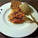 recette Salade de carottes protéinée pour végétariens