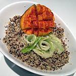 recette Quinoa au sarrasin et fleurs de poireaux
