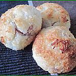 recette Rochers coco ou congolais fourrés à la confiture