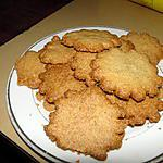 recette Sablés aux graines de pavot