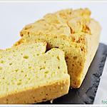 recette Cake beurre de cacahuète sans gluten et sans sucre.