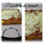 recette polenta à la tomate