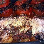 recette Tomates et poivrons farcis
