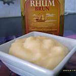 recette ma crème pâtissière aromatisée au rhum ambré