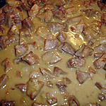recette Ragoût de porc aux Lardons