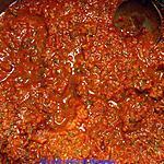 recette Sauce tomate et coriandre de Kat