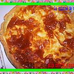 recette quiche crevettes et mozzarella