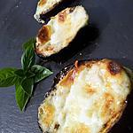 Aubergines poélée et grillée à l'italienne