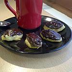 Mini éclairs/choux au chocolat Micro-Onde