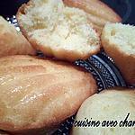"""recette madeleines """"gonflées"""""""