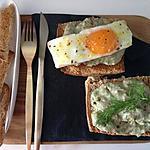 recette Toasties de crème de thon