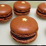 recette Macaron Chocolat Coeur Caramel