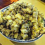 recette Aloo Posto (plat de pommes de terre indien)