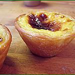 recette Pasteis de nata ou Pasteis de belem (petits flans aromatisés au citron Portugais)