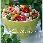 recette Salade de pois chiche à la grecque