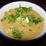 recette Soupe chinoise à l'oeuf