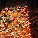 recette Sauce tomates aux petits légumes