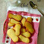 recette Langues de Chat