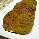 recette Croquettes pimentées aux deux pois, citron et féta