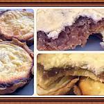 recette Tartelette crème de marron/fromage blanc