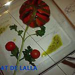 recette CHARLOTTE D'AUBERGINE