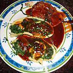 recette Roulade aux épinards