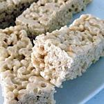 recette Barres Rice krispies aux Marshamllows