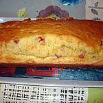 recette Cake mimolette -dé de jambon