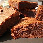 recette Brownies pralinés au chocolat au lait