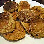 recette Petites crêpes noix-banane