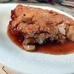 recette Pouding aux pommes
