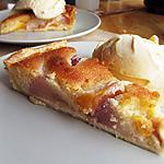recette Gâteau moelleux aux nectarines