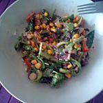 recette Magret de canard en salade
