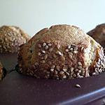 recette Tahin Muffins miel et sésame