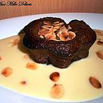 recette Coulant chocolat amande