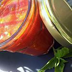 recette Sauce tomate mozzarella basilic