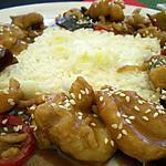 recette Le poulet du général Tao