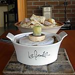 recette Brie fondant aux champignons et artichauts