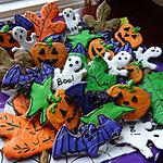 recette Biscuits d'Halloween au chocolat