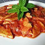 """recette Oeufs """"à la tripe"""" recette Italienne mais sans tripe"""