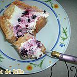 recette CHARLOTTE FACILE AUX FRUITS ROUGE