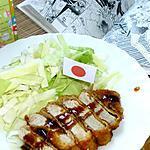 recette Tonkatsu - porc pané japonais