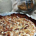 recette Tarte à la poire et à l'amande dans tous ses états