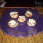 recette champignon au boursin ails et fines herbes simple et rapide pour un apéro réussi!