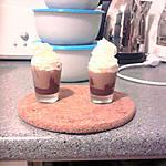 Petite douceur de crème de marron en verrine (pour les gourmands et gourmandes)