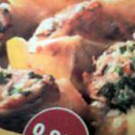 recette Ailes de poulet farcie