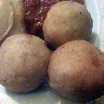 recette boulette de poulet et mozerella