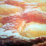 recette Tarte aux poires à la frangipane