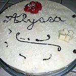 recette Gâteau chocolat blanc-fraises